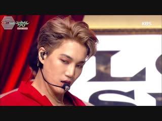 [РУСС. САБ] 181214 EXO - Love Shot @ Выступление на Music Bank