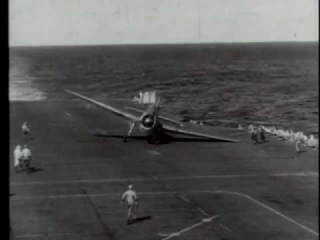Carrier Landings WWII U.S. Navy