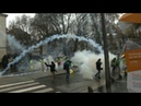 Yellow vests protest in Nantes