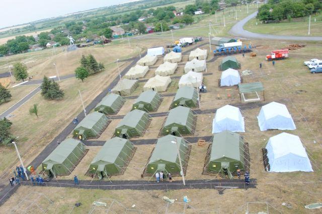В Ростовской области сократят количество полевых лагерей для украинских беженцев