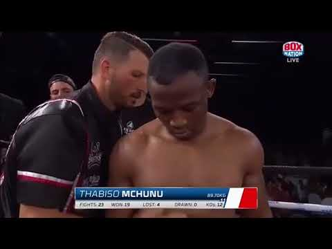 Табисо Мчуну - Томас Вестхайзен (Thabiso Mchunu vs Thomas Oosthuizen) 1/09/2018