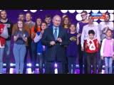 Владимир Путин поздравил волонтеров с праздником на церемонии вручения премии «Доброволец России».