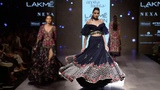 Kriti Sanon Walks For Arpita Mehta FallWinter 201718 Lakme Fashion Week