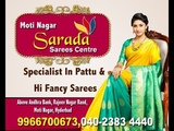 Pattu Hi Fancy Sarees Sarada Sarees Center Moti Nagar Hyderabad GChangers Agency