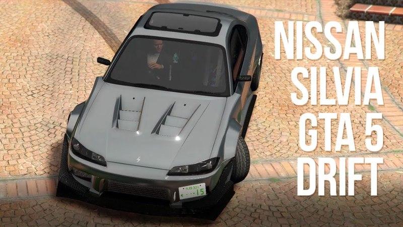 DRIFT GTA 5 | Nissan Silvia | First Person