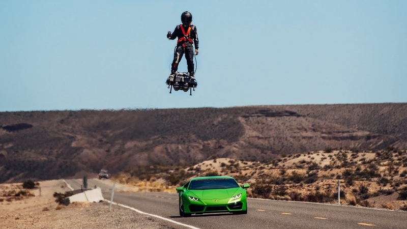 Franky Zapata the inventor of the Flyboard Air!
