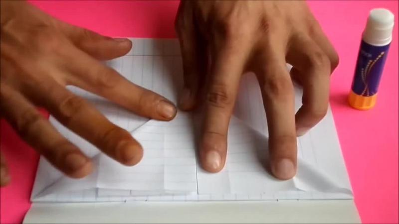 оригами идеи для личного дневника(лд) 2_конверт-кармашек _origami envelope