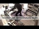 Techno Live Session with Analog Gear and Hardware Sequencer