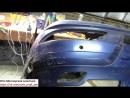 ✅ Ремонт переднего бампера Mercedes Benz Viano 👍
