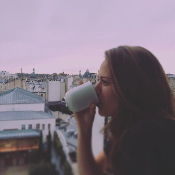У женщины всегда должно быть время на чашечку мечты