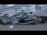 GP3 Monaco 2012 Conor Daly Horror Unfall