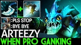 Arteezy Slark When Pro Player Ganking Insane Gameplay 7.20 Dota 2