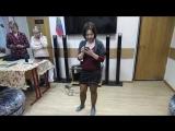 Балашова Людмила читает стихотворение Андрея Дементьева -