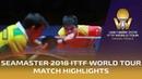 Hugo Calderano vs Fan Zhendong 2018 ITTF World Tour Grand Finals Highlights 1/4 - FULL HD