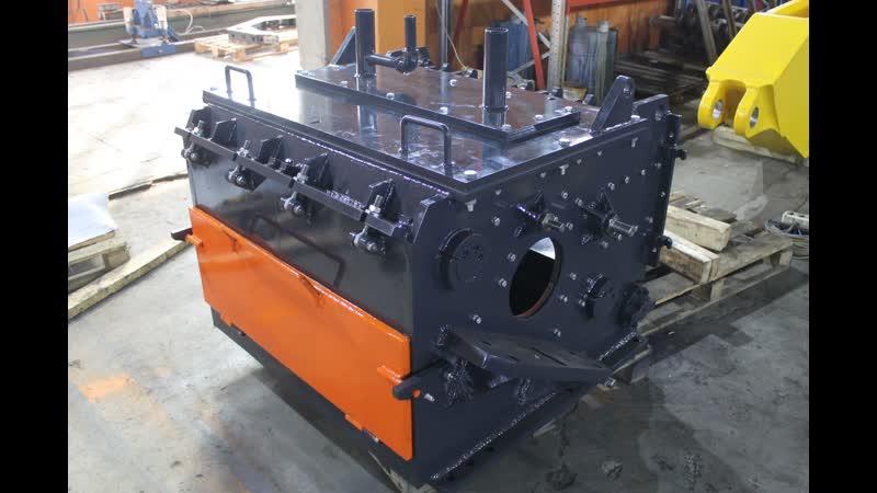Изготовление корпуса дробилки по образцу серии SML HERBOLD HB (Германия)