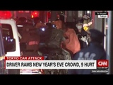 Tokyo car attack Driver hits New Year's revelers in city's Harajuku district