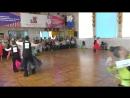 фрагмент выступления по танцевальному спорту в ДК Современник Конаково (08.04.2018)