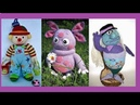 Вязаные игрушки 300 штук. Big collection of wonderful knitted toys