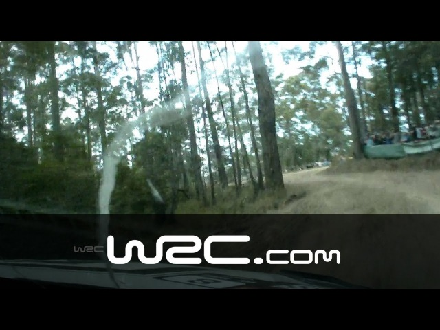 Onboard Ogier SS05/ Coates Hire Rally Australia 2013