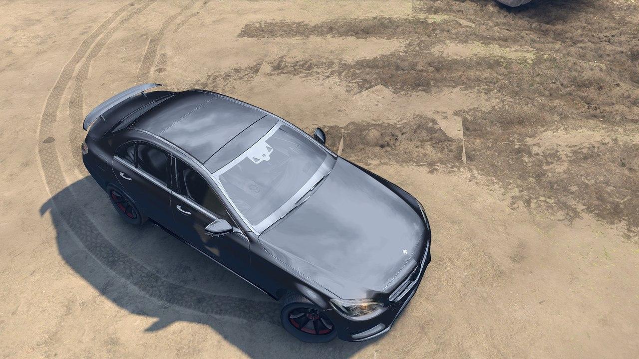 Mercedes Benz C250 Brabus для Spintires - Скриншот 1