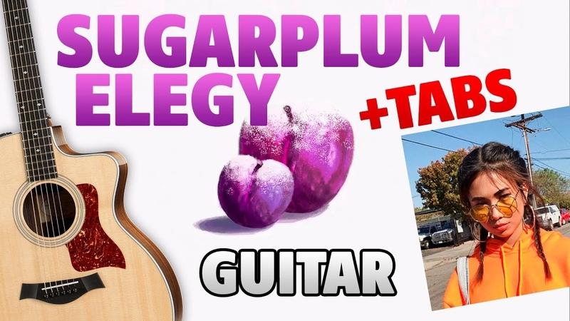 [88Rising] NIKI ❄️ SUGARPLUM ELEGY (fingerstyle guitar cover with tabs and karaoke)