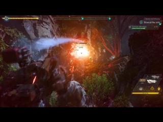 Эксклюзивный геймплей Anthem на GeForce GTX 10