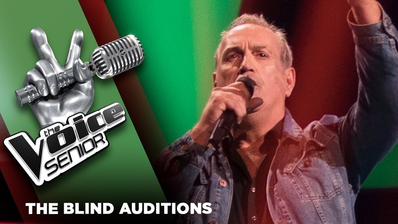 Georges Lotze – September Morn   The Voice Senior 2018   The Blind Auditions