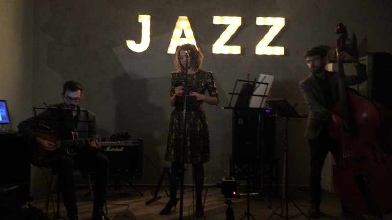 JazzLike.ru: Трио Анны Лукшиной - Que Reste-T-il De Nos Amours