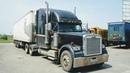 ВНУТРИ КАБИНЫ FREIGHTLINER CLASSIC Американский грузовик изнутри