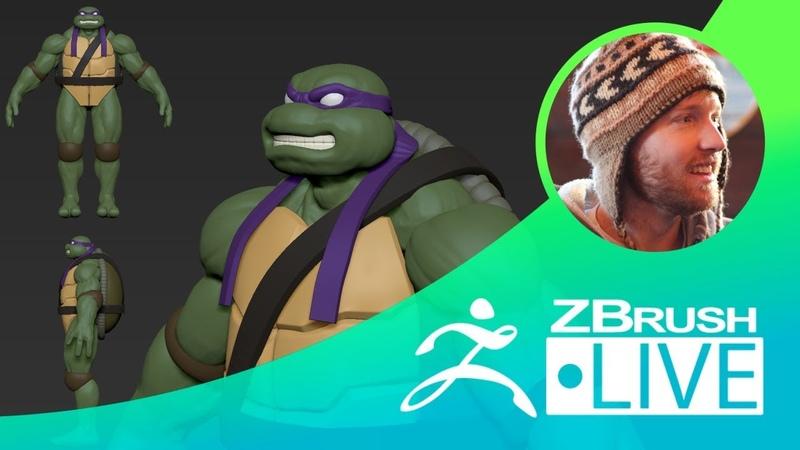 Donatello from Teenage Mutant Ninja Turtles Fan Art - Timothy Rapp - Episode 50