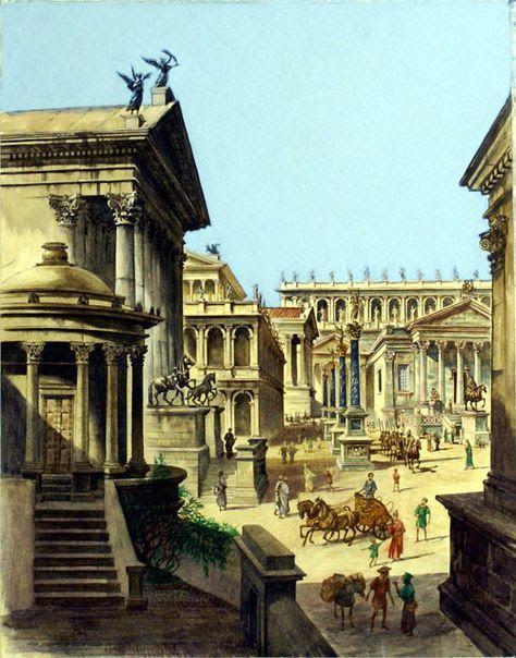 повседневная жизнь Древнего Рима