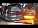 Задние фонари Kia Cerato II 2009-2013 ( черные)