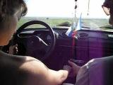 Учусь ездить на машине