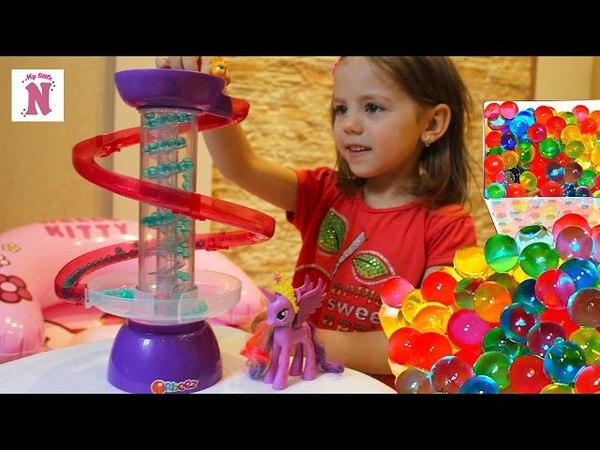 ОРБИЗ светильник Выращиваем шарики орбиз играем МАЙ ЛИТЛ ПОНИ Твайлайт Спаркл Orbeez Swirl n Whirl