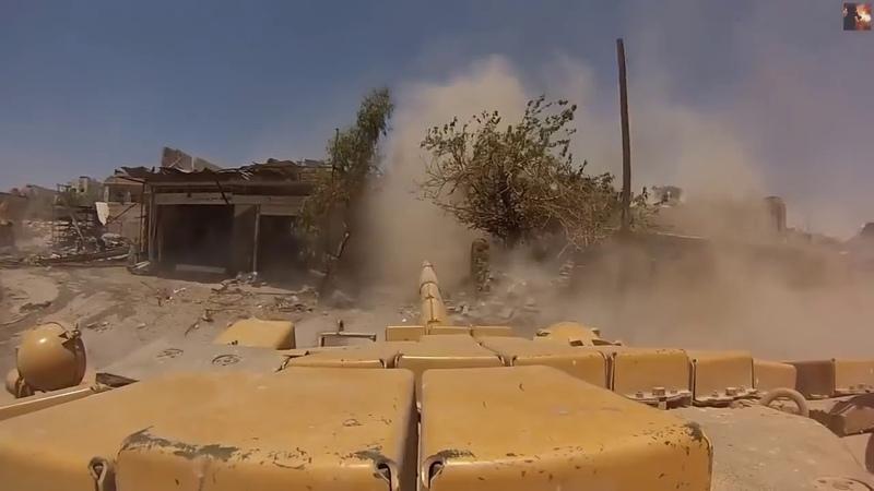 Syrian war updates Syrian Army Tank In South Syria