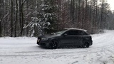 Audi A3 QUATTRO 2.0 TDI 184 PS snow drifting