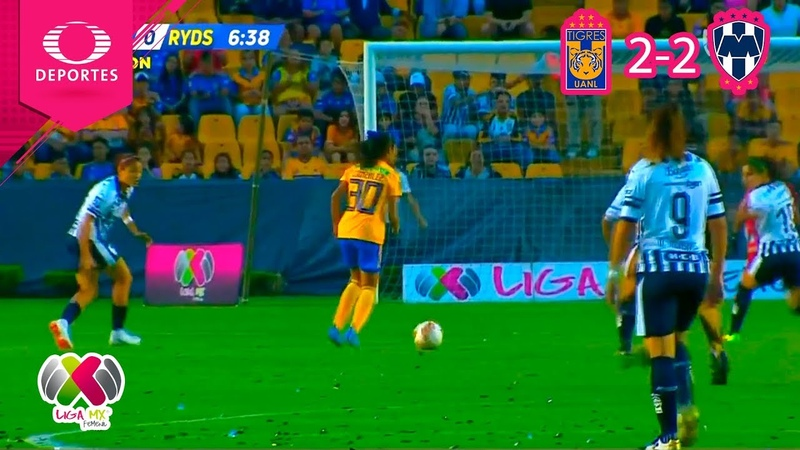Mexico I Resumen | Tigres 2 - 2 Monterrey | Liga MX Femenil - J5 | 2018