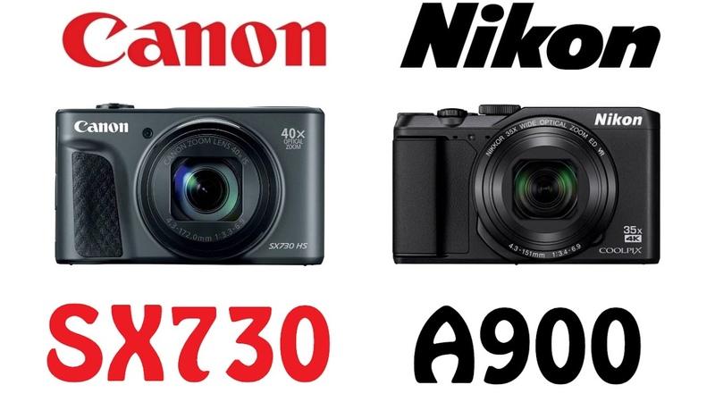 Canon PowerShot SX730 HS vs Nikon Coolpix A900