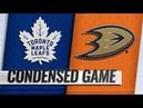 Toronto Maple Leafs vs Anaheim Ducks   Nov.16, 2018