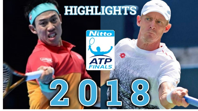 Kevin Anderson vs Kei Nishikori ( 錦織 圭 ) Highlights ATP Finals 2018