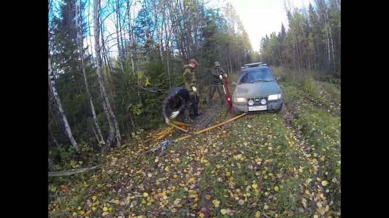 Применение реечного домкрата в полевых условиях