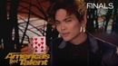 Shin Lim Magician Performs Jaw Dropping Unbelievable Card Magic America's Got Talent 2018