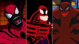 Evolution of Carnage in cartoons