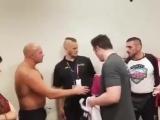 Фёдор Емельяненко и Чел Соннен после боя