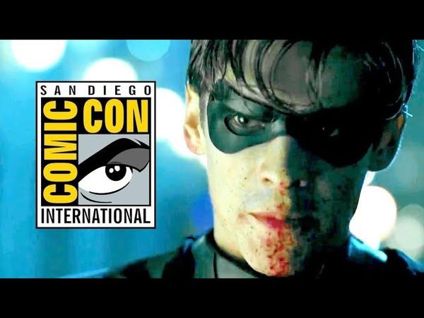 TITANS Official Trailer 1 (2018) NEW Comic Con - DC Universe Superhero TV Series