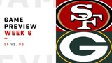 San Francisco 49ers vs. Green Bay Packers Week 6 Game Preview NFL Film Review
