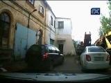 Погоня наряда ДПС за пьяным водителем в Вологде