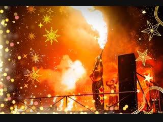 Рождественский фестиваль огня и света в полоцке. сегодня в 19:00