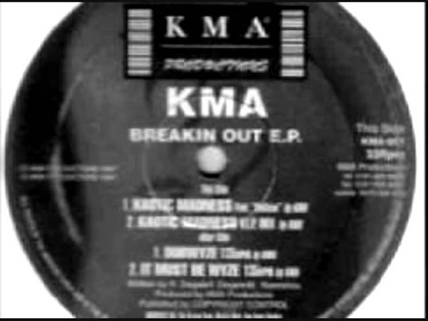 KMA PRODUCTIONS 'DUBWYZE' BREAKIN OUT EP 'KMA RECORDS