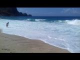 Средиземное море, пляж Клеопатры